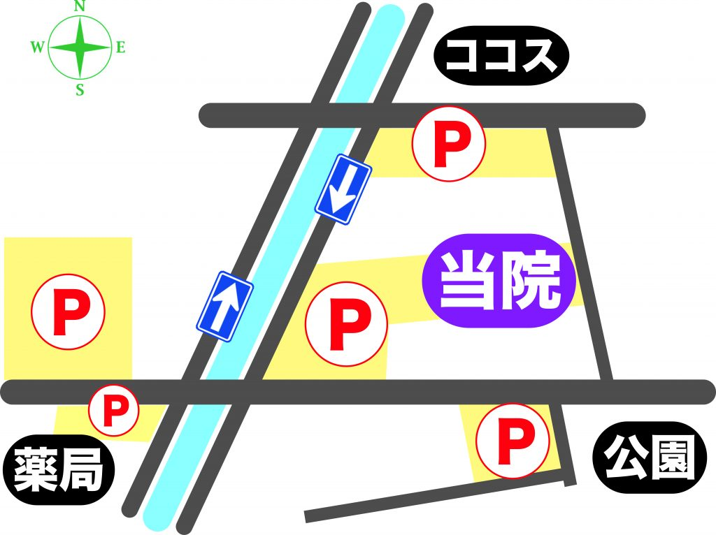 駐車場案内8横方位